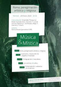 Música y Mística: Roma Peregrinación Artística y Religiosa